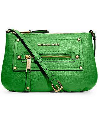 80c7c68ecfc6b3 MICHAEL Michael Kors Gilmore Crossbody | 5.2 Green bags | Handbags ...