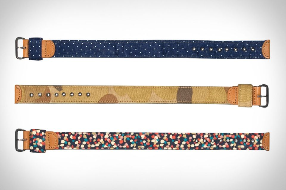 Give your go-to timepiece an added touch of style with The Hill-Side Watch Straps. Available in a variety of patterns and colors, these sturdy straps are made from 100% cotton fabric, and feature painted brass mil-spec buckles and eyelets, lightweight...