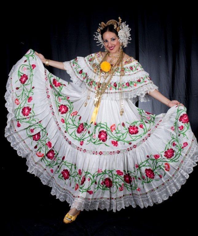 Polleras Panameñas Vestidos Tipicos Panameños Vestidos