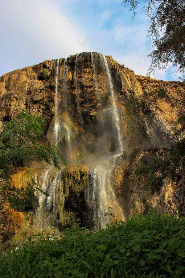 Hotsprings Maeen Hot Waterfalls Jordan Hammamat Mae N Is A Series Of Hot Mineral Springs And Waterfalls Located Between Mada Hot Pools Water Thermal Bath