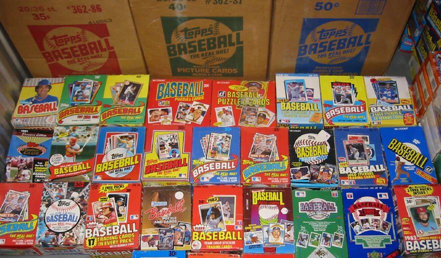 Details About Huge Liquidation Old Baseball Cards In