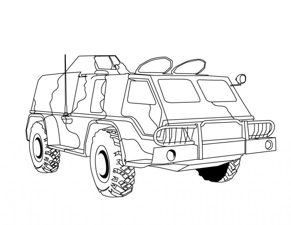 Free Printable Army Coloring Pages For Kids Truck Coloring Pages