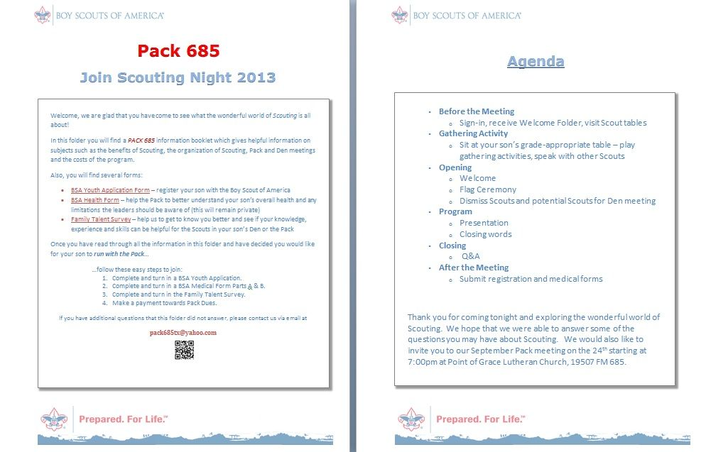 Sample Welcome Letter And Agenda For JSN Good For
