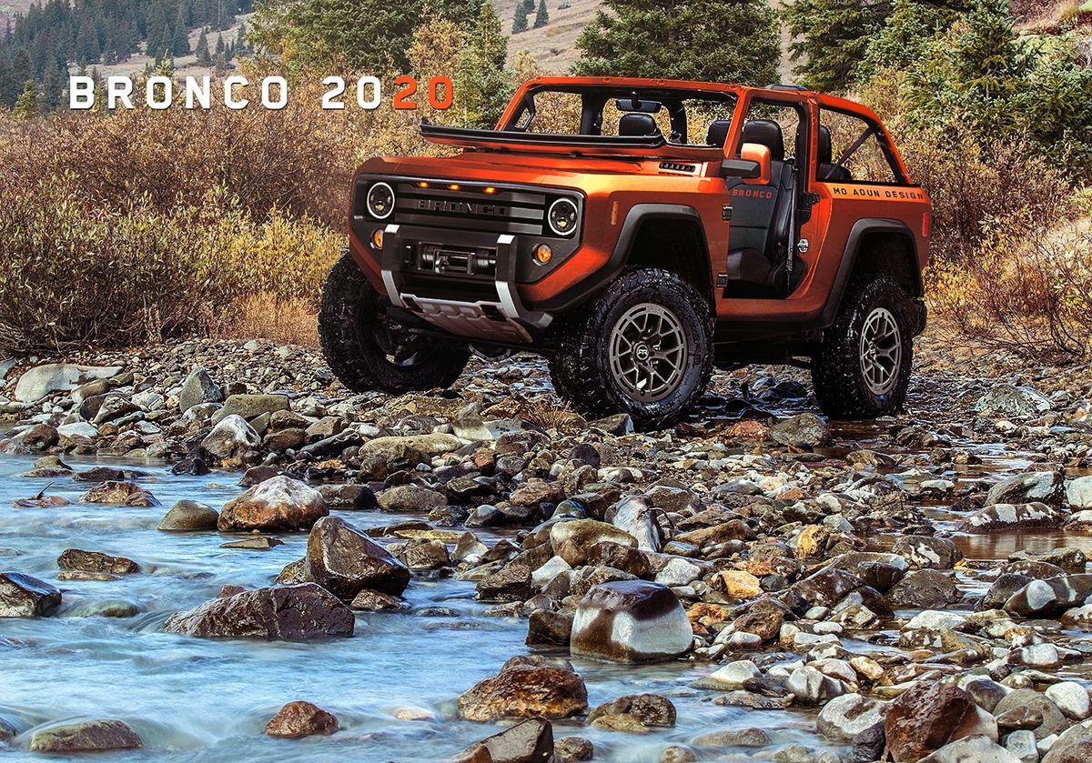 Bronco 2020 On Behance