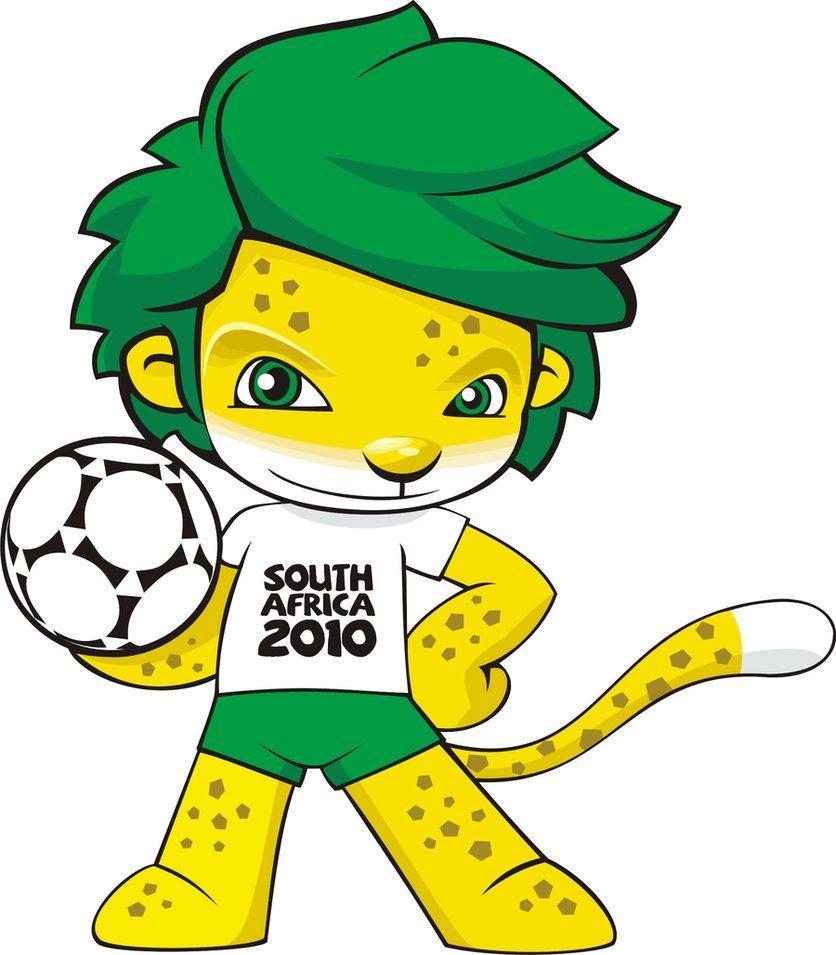 Zakumi Sudafrica 2010 World Cup Logo World Cup Fifa World Cup