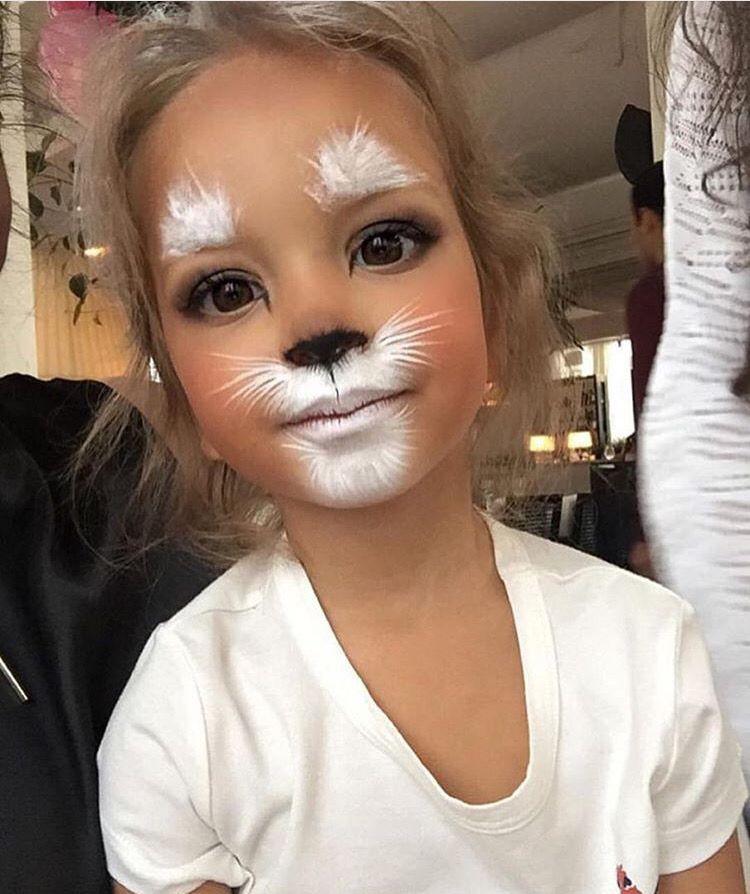 Gatita Maquillaje de fantasa Pinterest Gato Maquillaje y