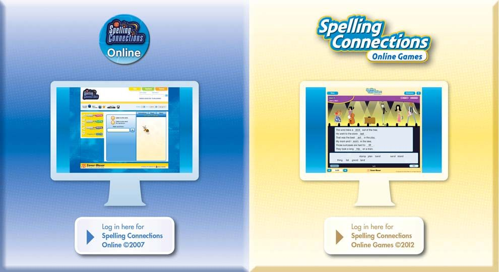 Welcome To Spelling Connections Online This Site Features A