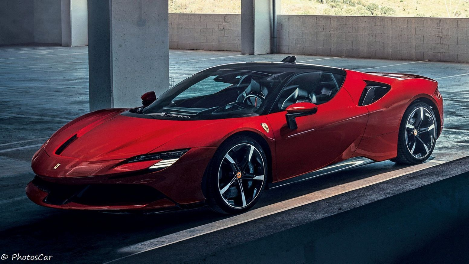 11 Wallpaper Nouvelle Ferrari 2020 In 2020 Super Cars Ferrari Porsche Taycan