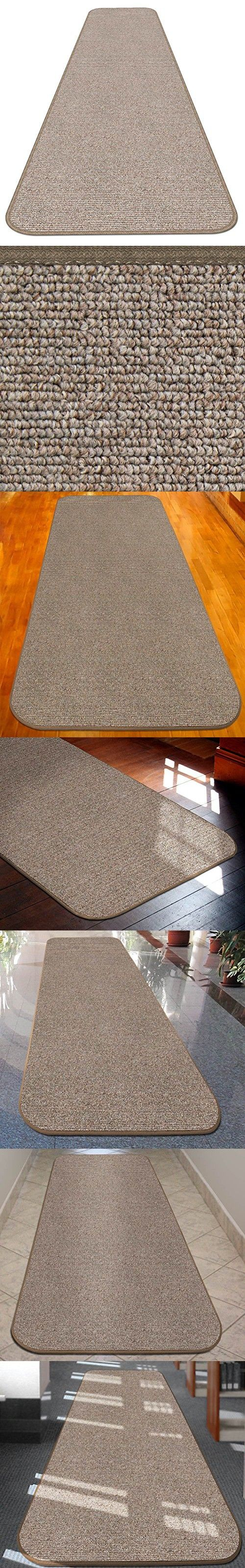 House Home And More Skid Resistant Carpet Runner Pebble Beige 8 Ft X 27 In Many Other Sizes To Choose Carpet Runner Carpet Home