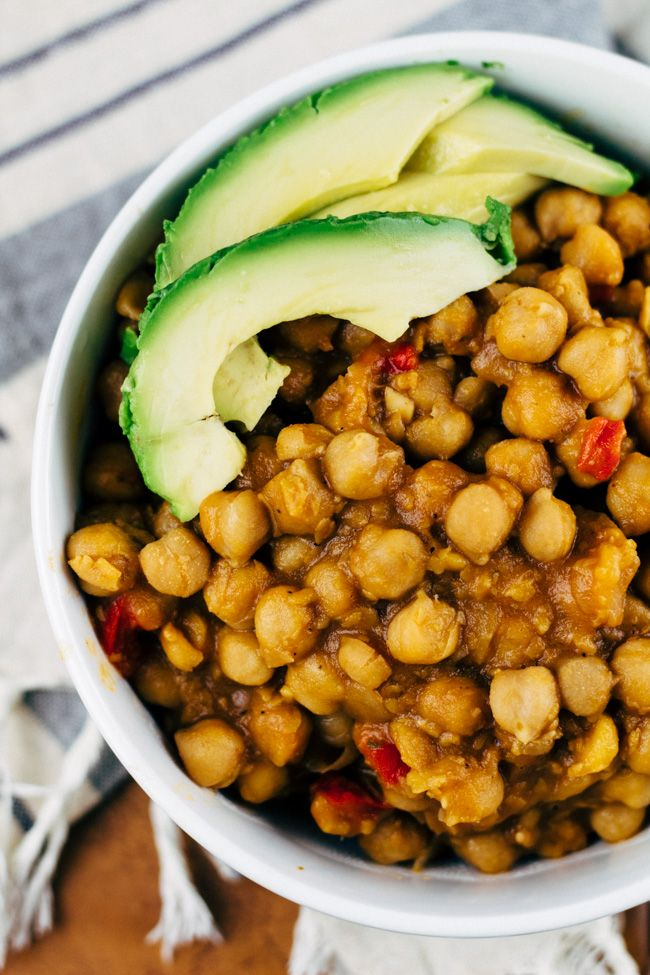 Vegan Garbanzo Bean Soup