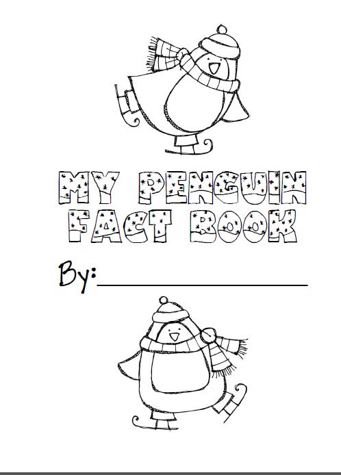 Penguin fact book for nonfiction penguin unit freebie