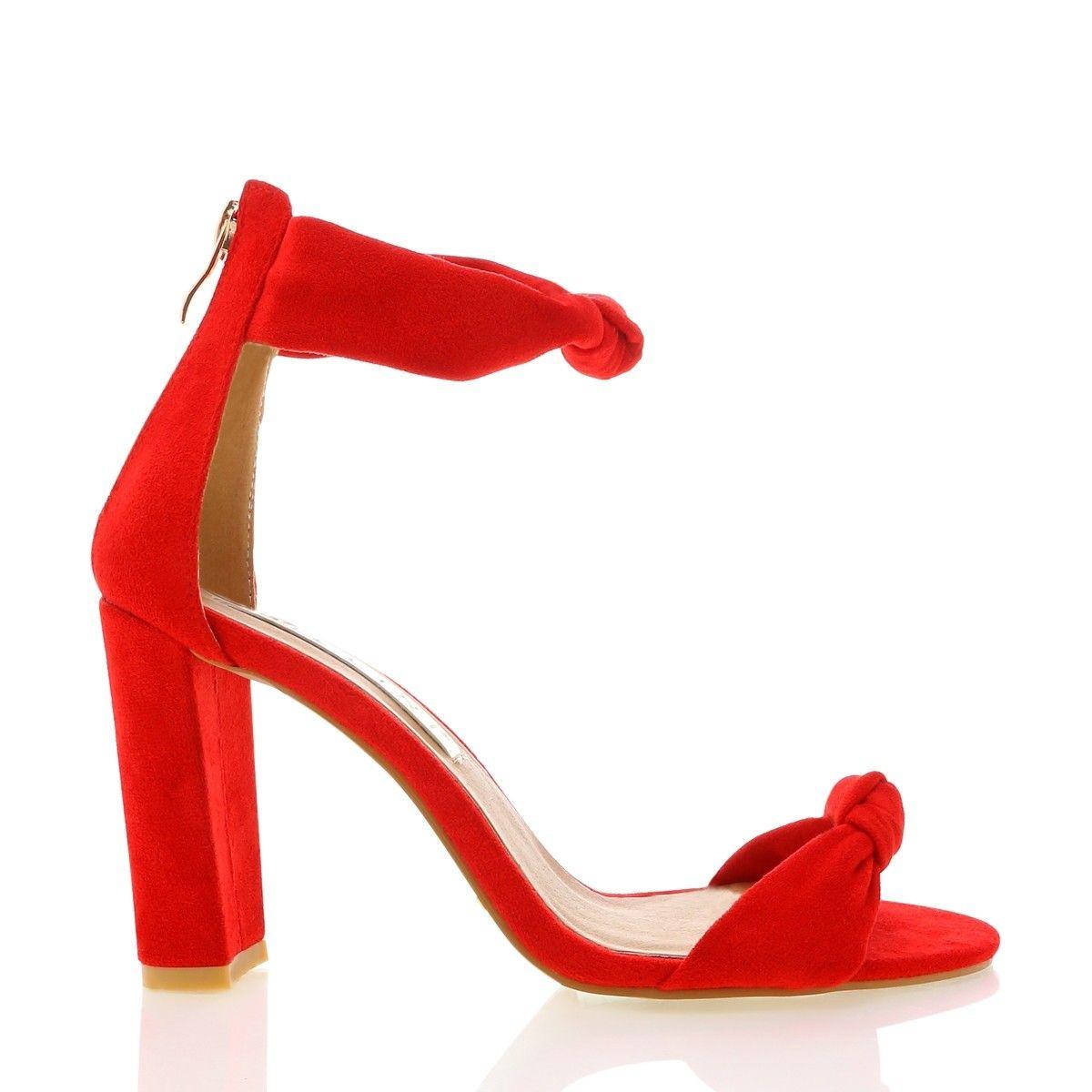 97583a93226 Galera red suede in 2019 | SHOP NEW ARRIVALS | Heels, Block heels ...