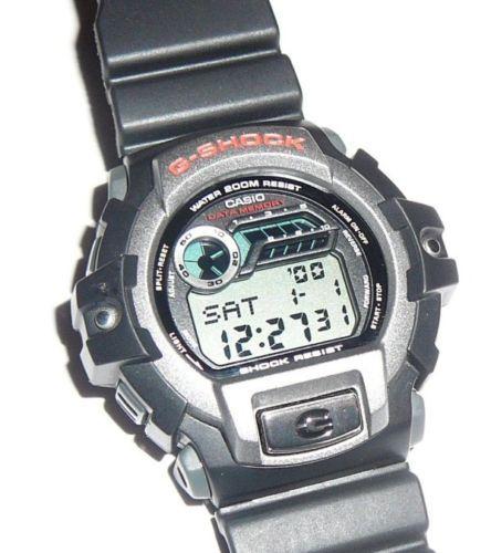 Vintage Casio G Shock G 2210 Data Memory Digital Men s Wrist Watch Gray  Bezel  2e78fddd69