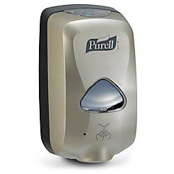 Purell Tfx Touch Free Dispenser Silver Purell Dispenser Touch