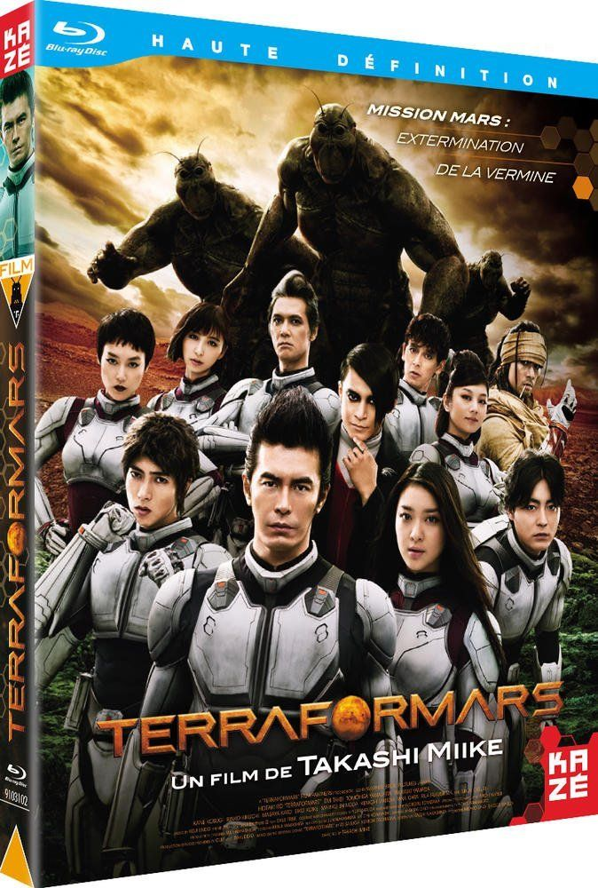 TERRA FORMARS, LE FILM de Takashi Miike [Critique BluRay