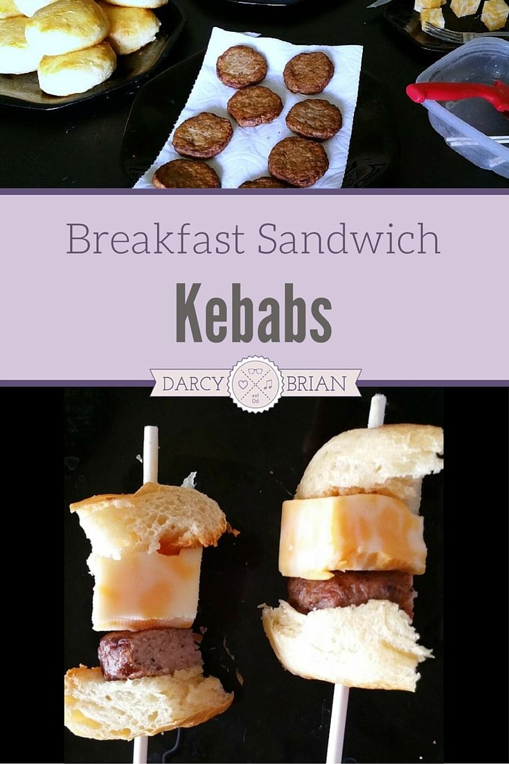 Want the kids to help in the kitchen more? Make these Breakfast Sandwich Kebabs with them for an easy brunch or breakfast idea. This is a recipe kids can help cook for Mother's Day or Father's Day!