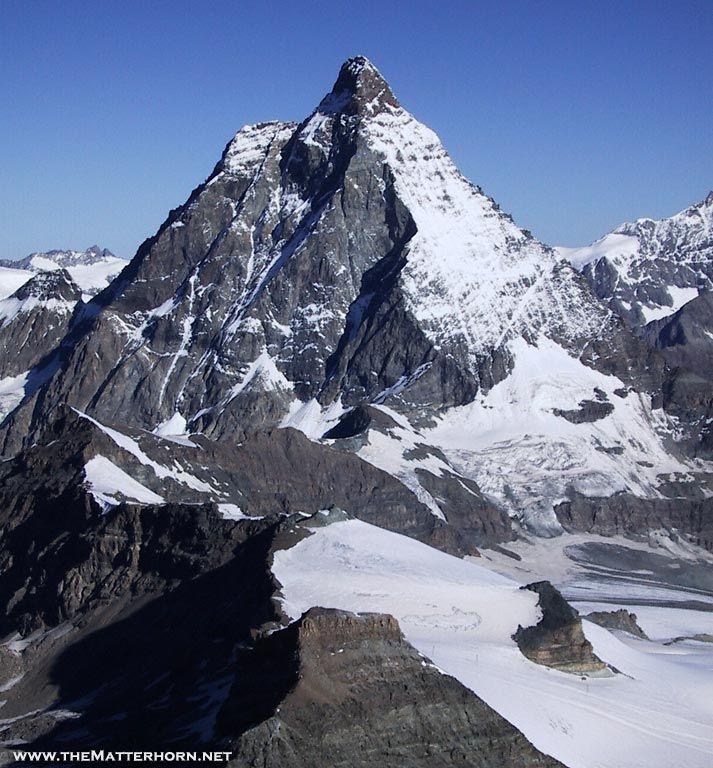 The Klein Matterhorn (sometimes translated as Little ...