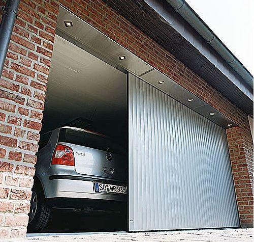 Sliding Garage Doors   Interesting Thought Corrugated Metal