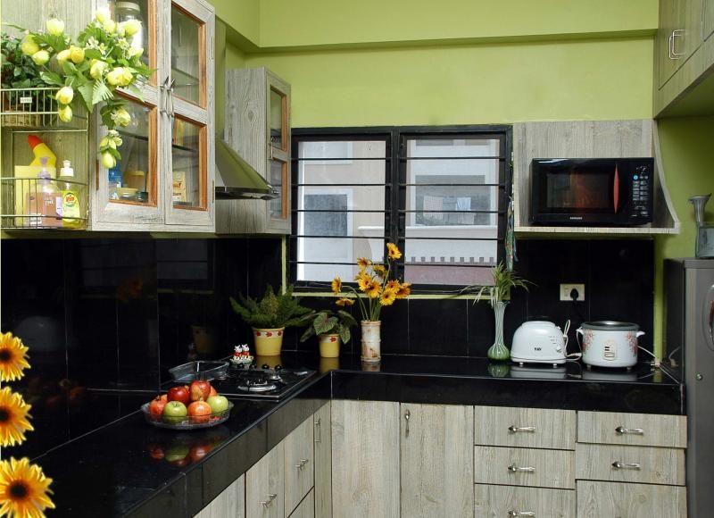 foto cocina color verde | Kitchens | Pinterest | Apartamentos, Verde ...