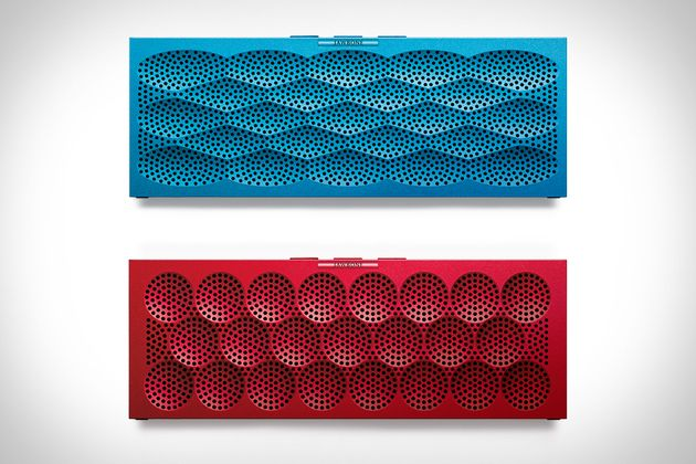 Jawbone Mini Jambox-is your smartphone's new best friend.  Perfectly-sized for your pocket or bag this speaker is built to go wherever you go.  #speaker