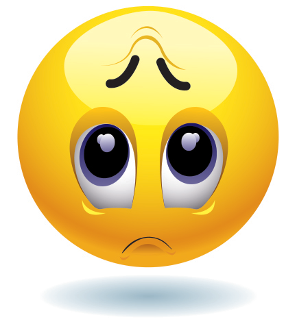 Sad face symbol copy and paste