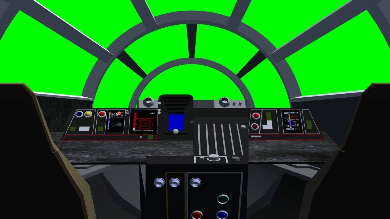 Build A Spaceship Theatrical Set Millennium Falcon Cockpit 01