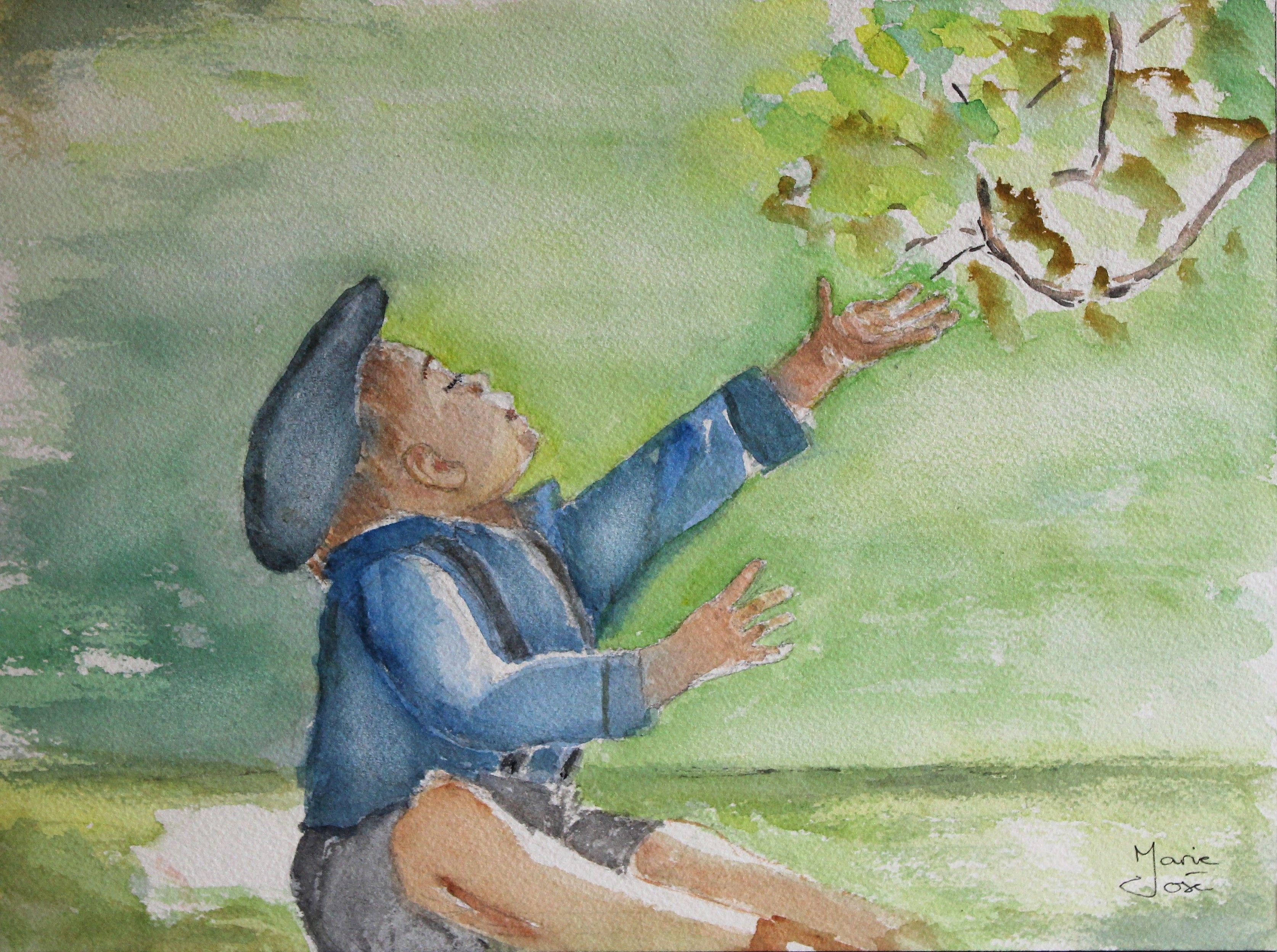 Perseverance Aquarelle A Vendre Sur Artmajeur Peinture