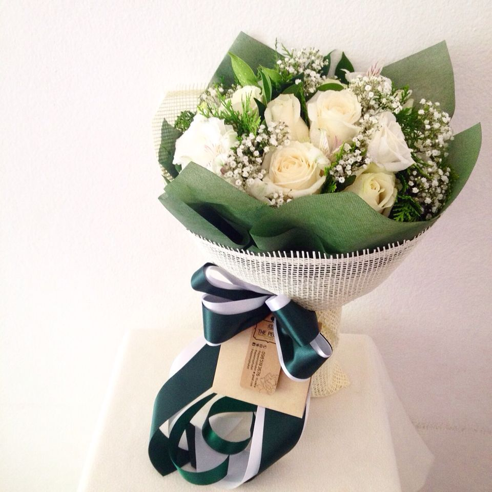 Bouquet Fresh Flower Design By The Peony Phuket Flower Shop Contact
