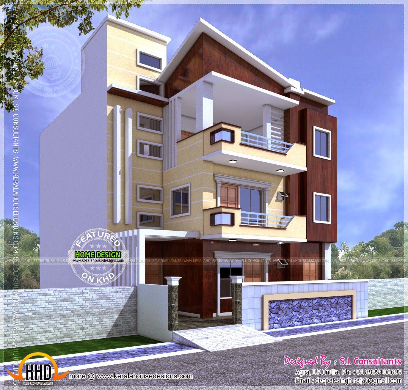 Three storied house jpg jpeg image 1372 x 1312 pixels