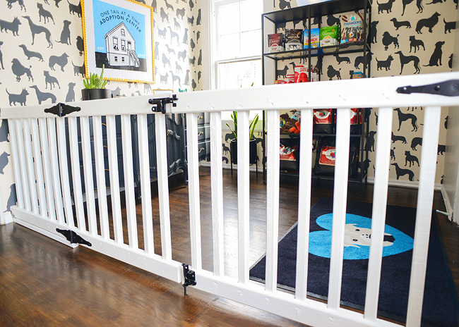Diy An Extra Wide Gate Pets Diy Baby Gate Diy Dog