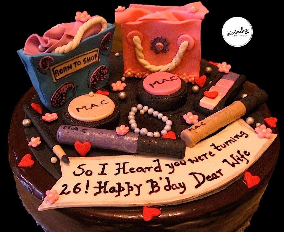 Eclairs Cakes Theme Cakes Fondant Cakes Cakes For Shopaholics