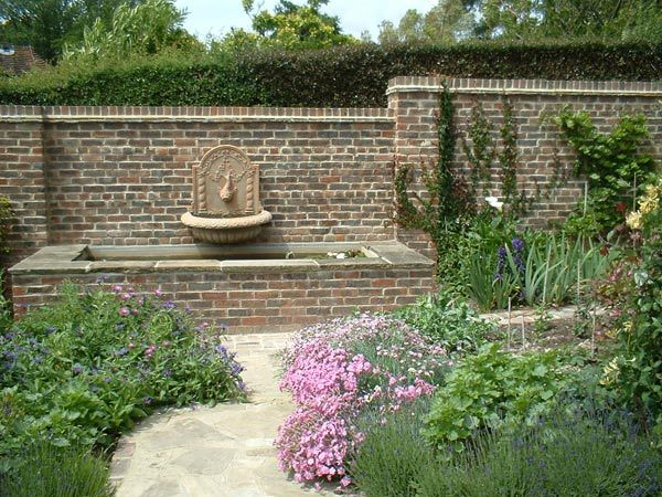 Awesome Garden Wall formal garden Pinterest Garden wall