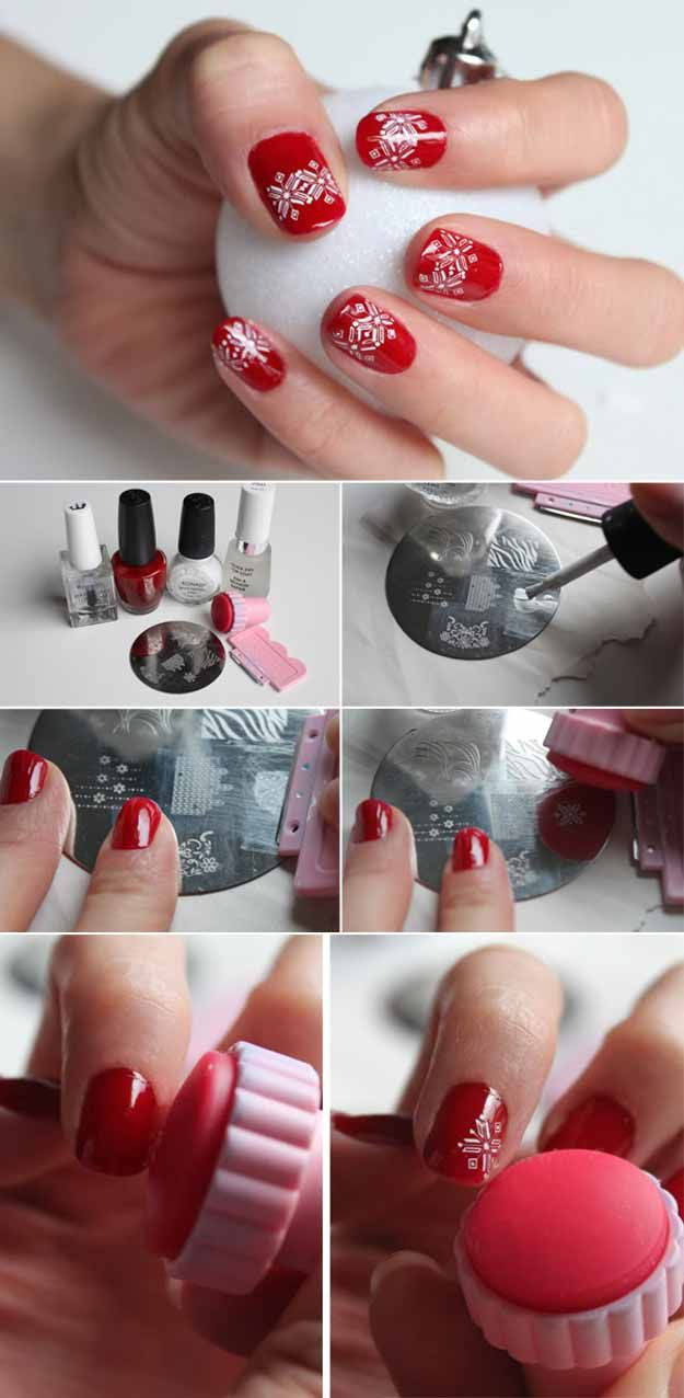 Christmas Nail Art Designs Pinterest Hireability