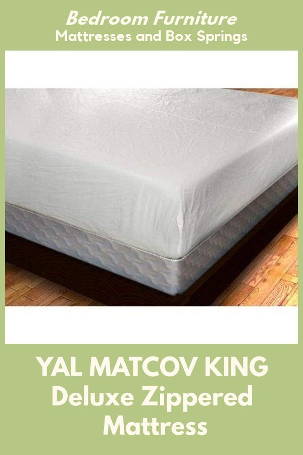 Yal Matcov King Deluxe Zippered Vinyl Bed Bug Proof Mattress Cover King Size Click Image To Review More Detail In 2020 Mattress Mattress Covers Mattress Furniture