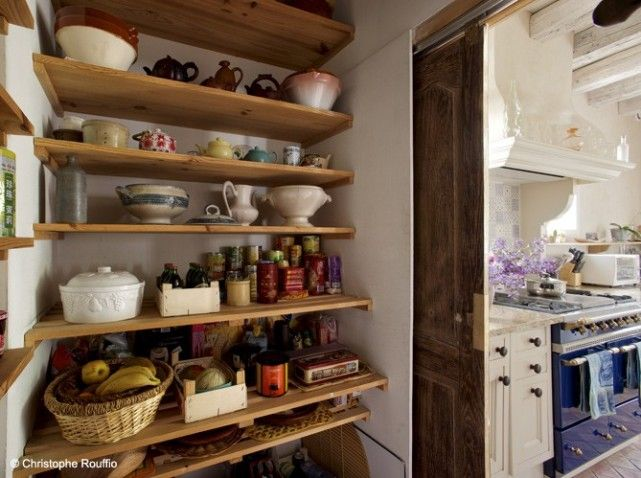 Pantry pantry Pinterest Cuisine campagne, Portes coulissantes