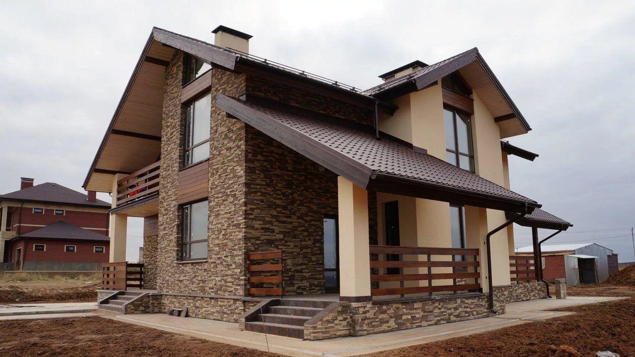 картинки по фасаду домашних бюджетный