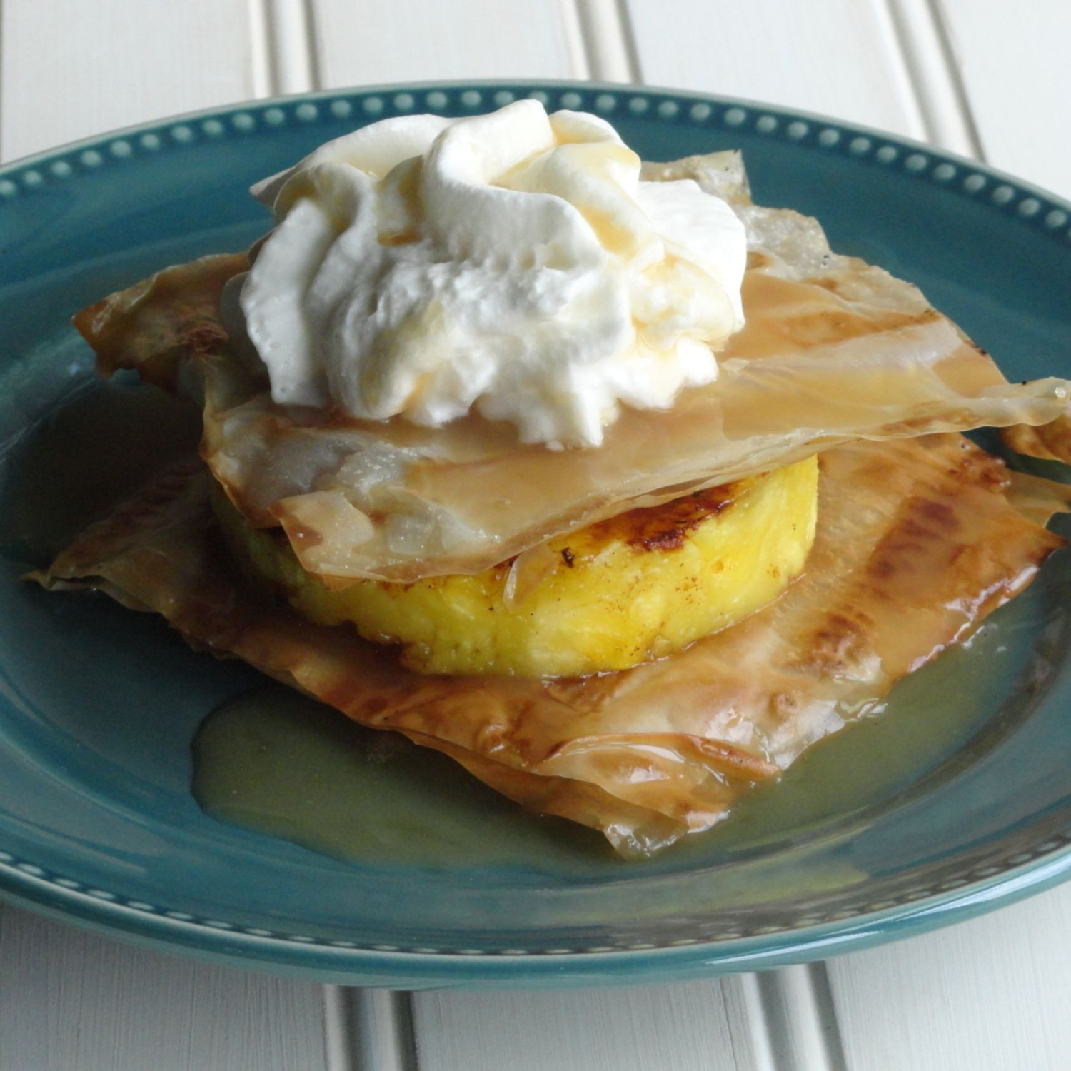Check out Grilled Pineapple Napoleons with Coconut Caramel ...