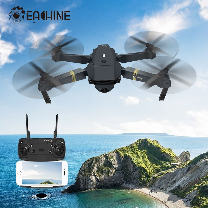 Eachine E58 Wifi Fpv With True 720p 1080p Wide Angle Hd Camera High Hold Mode Foldable Arm Rc Drone Quadcopter Rtf Vs S9hw M69 Rd Trend In 2020 Drone Quadcopter