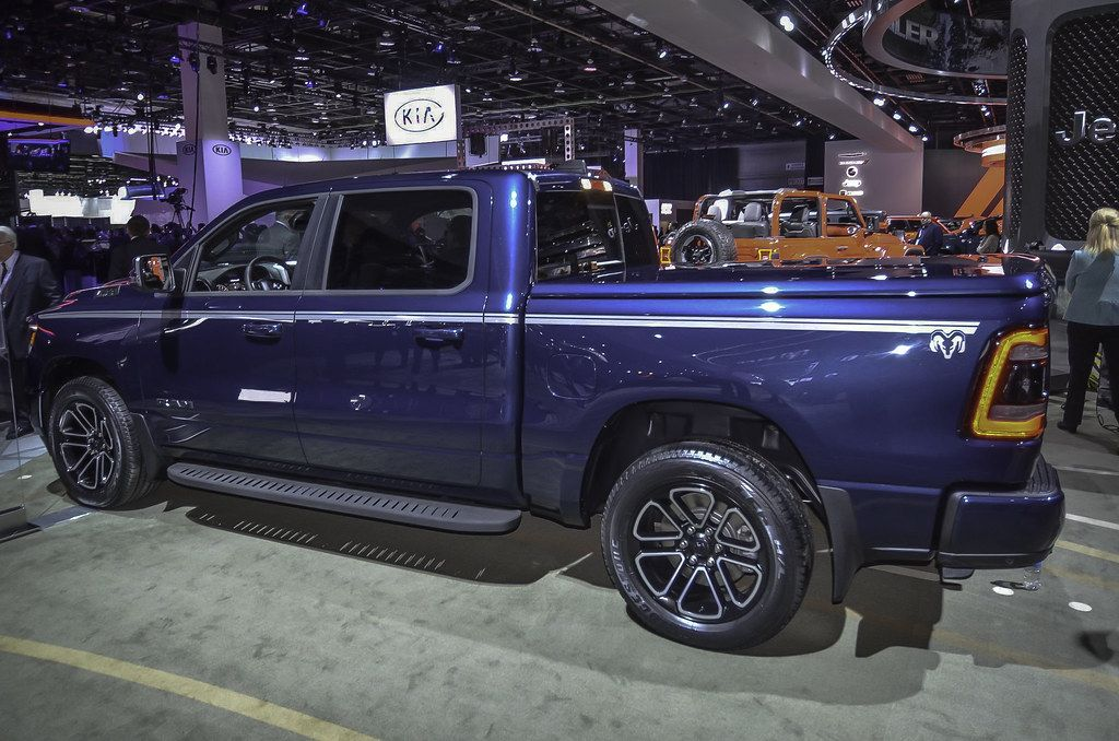2019 Ram 1500 live photos 2018 NAIAS Car Fanatics Car