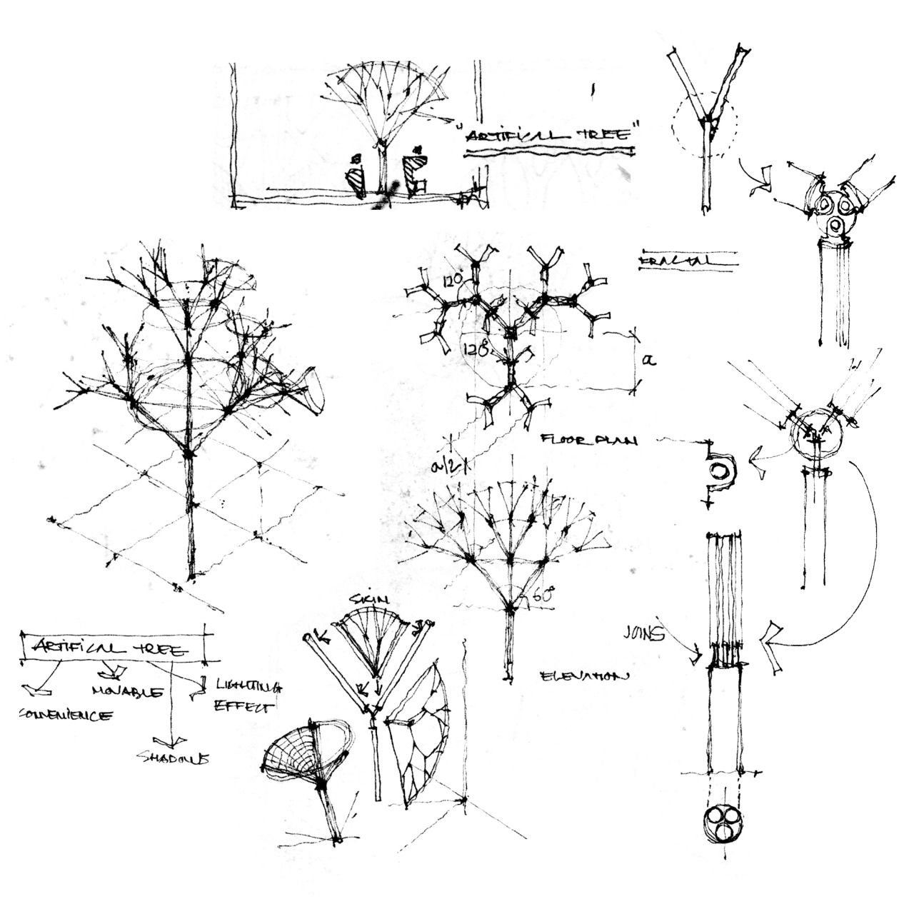 Foldable Tree