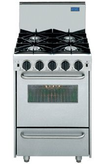 FiveStar 24u2033 Apartment Size Stove Brings The Distinctive Style And  Performance Of Its Full
