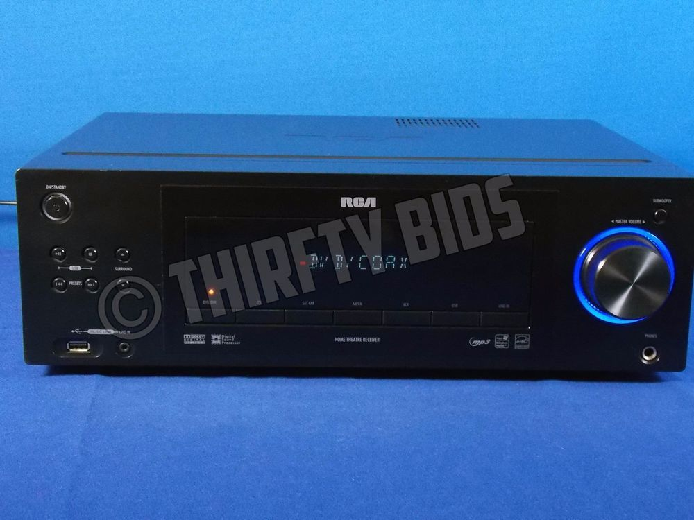 Rca home theater system model rt2870