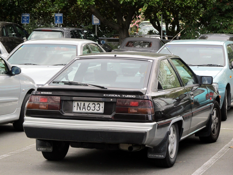 1986 Mitsubishi Cordia Turbo
