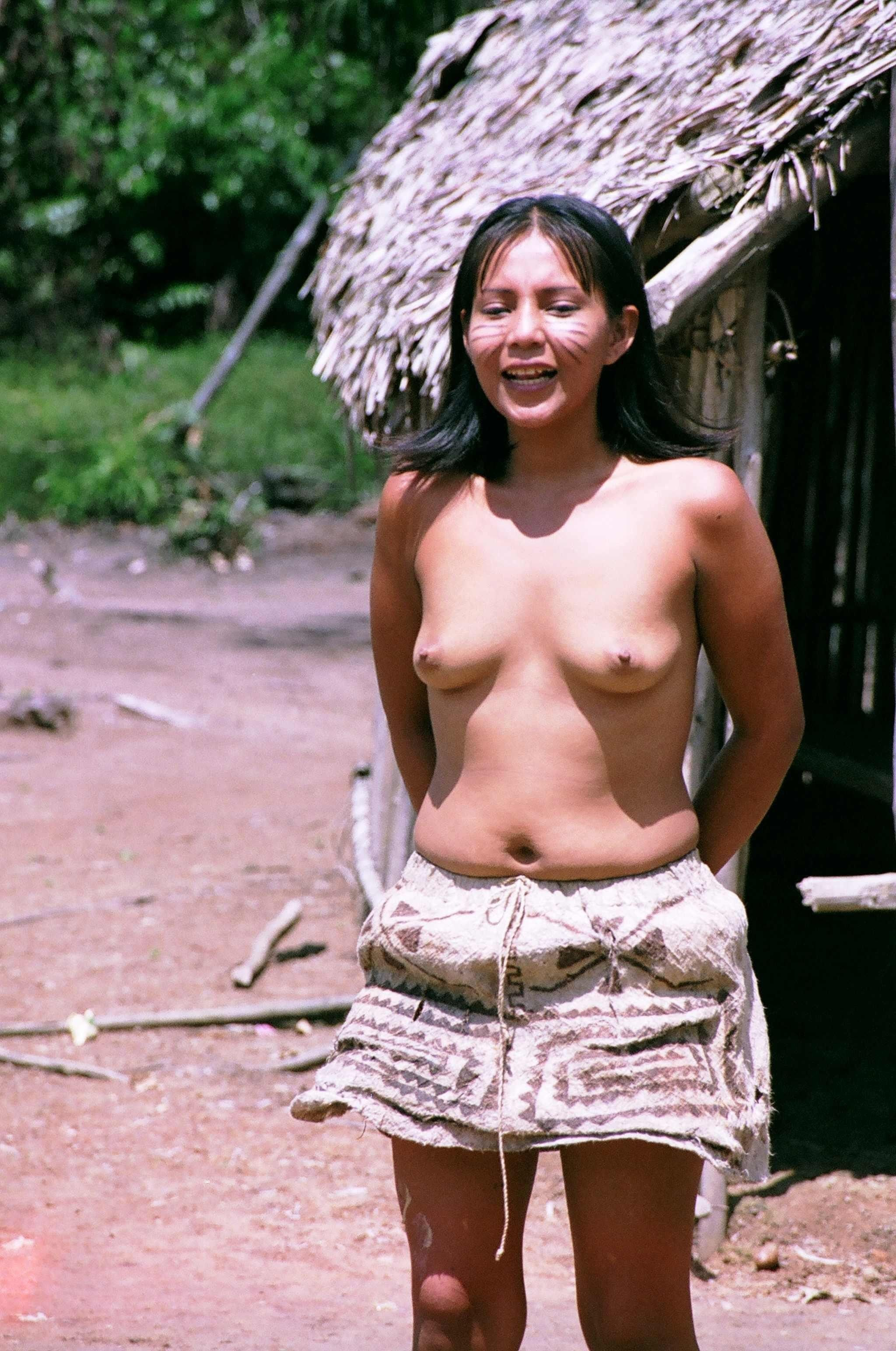 Beautiful nude tribal girls