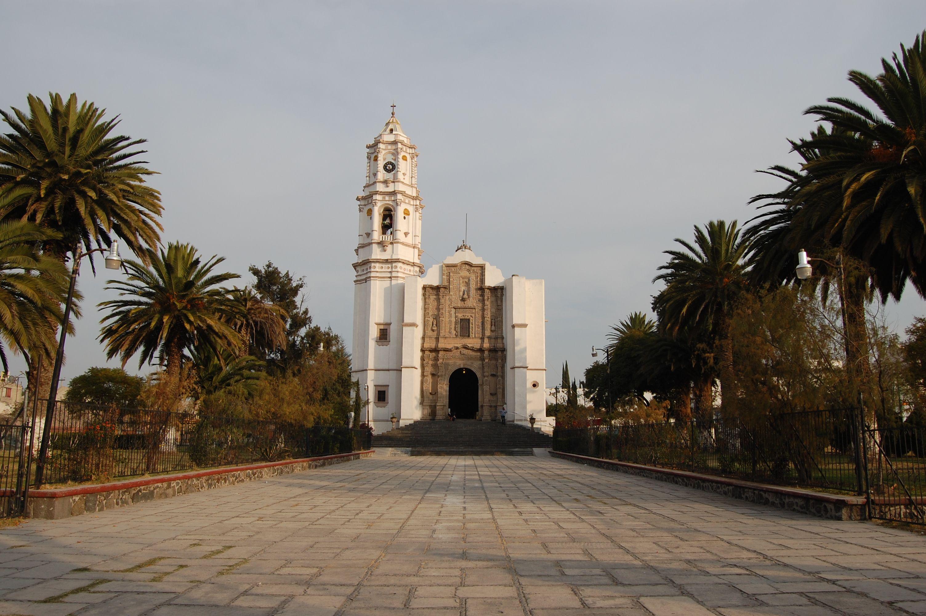 Iglesia De Santa Maria Ozumbilla En Tecamac Edo De Mexico  # Muebles Luz Tecamac