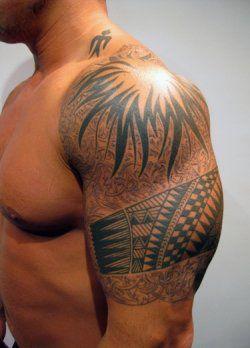 Tatouage Maori Homme Epaule Avant Bras Jc Patutiki