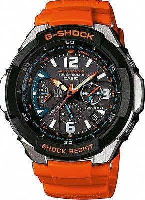 #Casio g-shock gw-3000m-4aer aviator solar wave #ceptor #radio controlled, new,  View more on the LINK: http://www.zeppy.io/product/gb/2/390986054281/