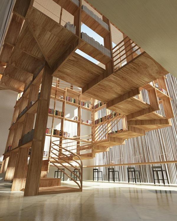 Erstaunliche Innenarchitektur Und Treppen