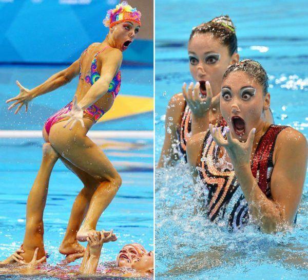 Lustige Bilder Schwimmen