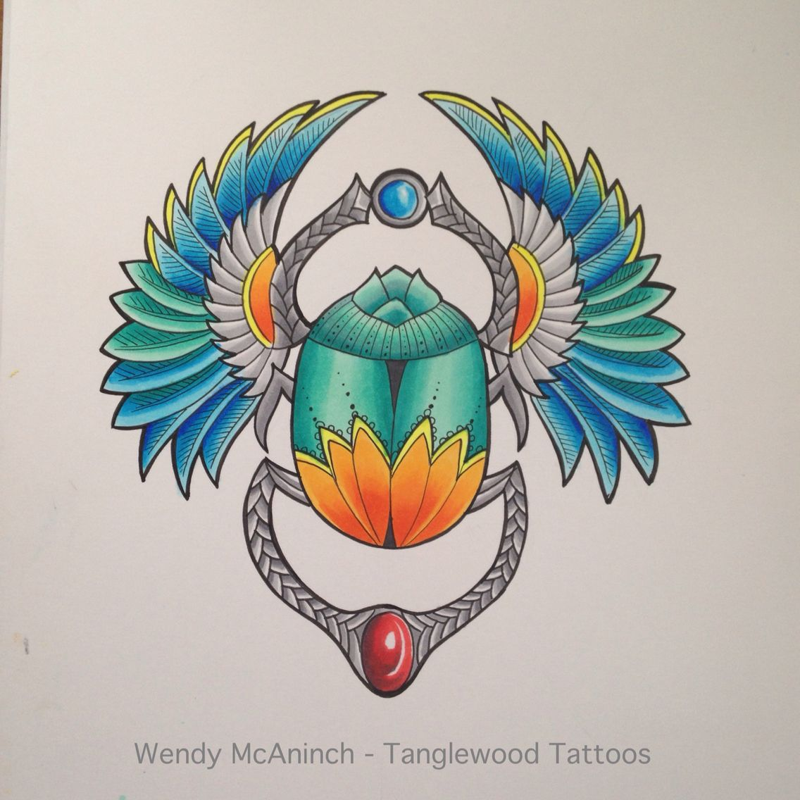 egyptian scarab tattoo design by wendy mcaninch drawing coloring pinterest scarab tattoo. Black Bedroom Furniture Sets. Home Design Ideas